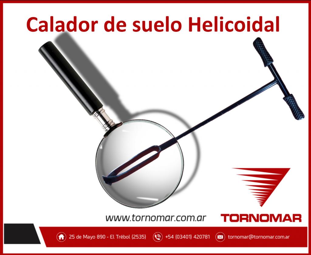Calador de suelos Helicoidal (H1)