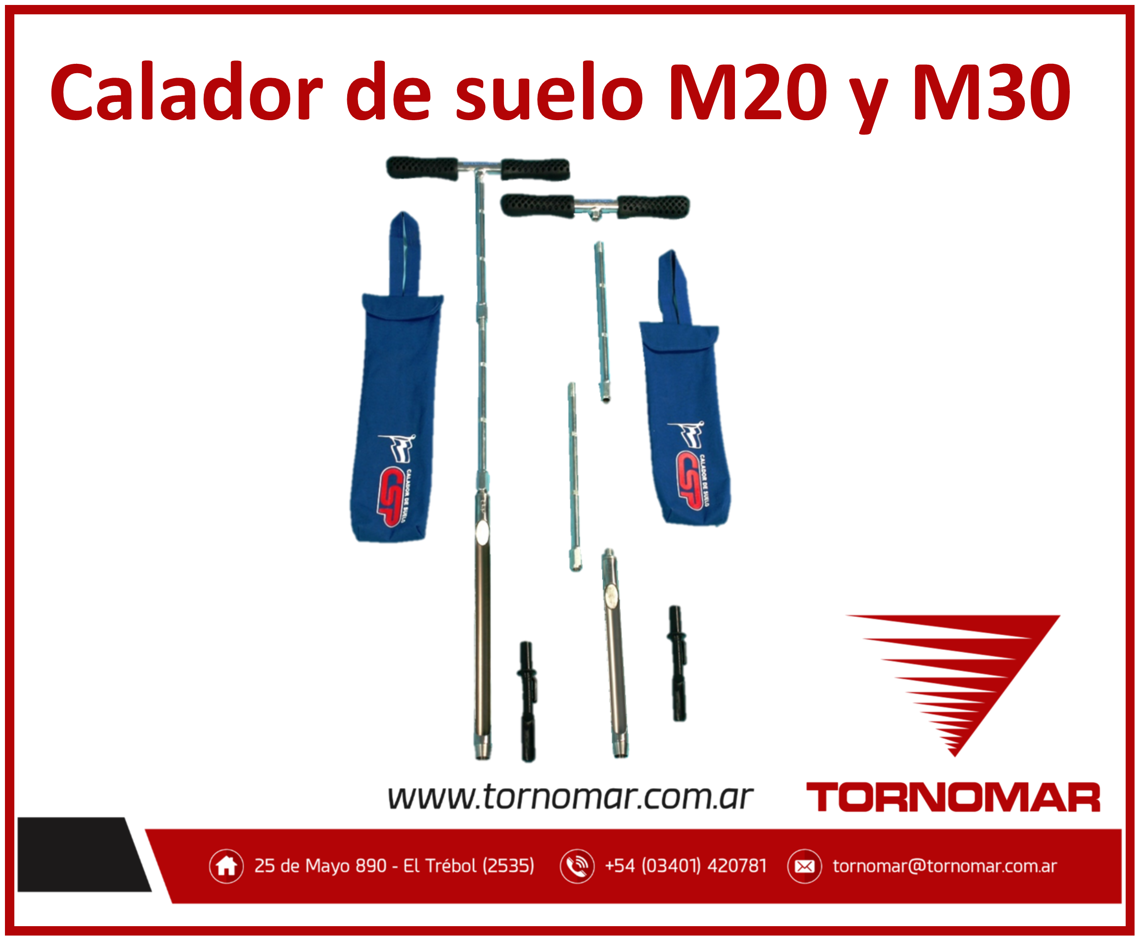 Calador de suelo (M20-M30)