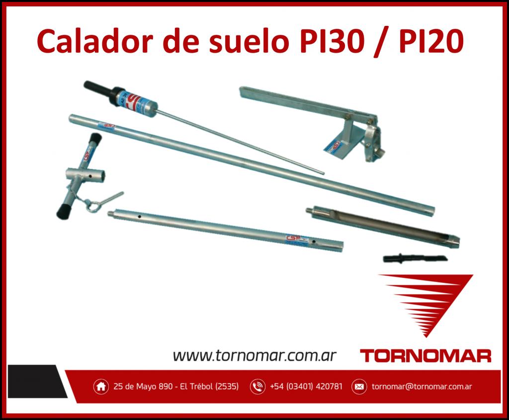 Calador de Suelo (PI20 – PI30)
